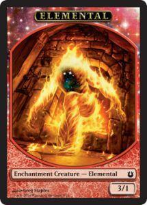 Tokens Magic Accessoires Pour Cartes Token/Jeton - Créations Divines - Elemental