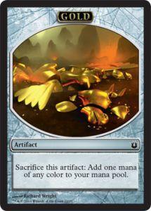 Tokens Magic Accessoires Pour Cartes Token/Jeton - Créations Divines - Or