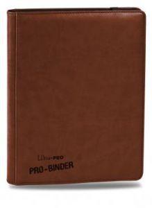 Classeurs et Portfolios Accessoires Pour Cartes Portfolio Ultra Pro - A4 Premium Pro-Binder Haut de Gamme - Marron - ACC