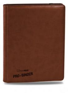 Classeurs et Portfolios  Portfolio Ultra Pro - A4 Premium Pro-Binder - Marron