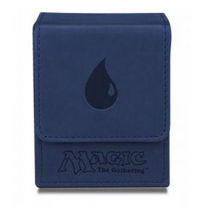 Boites de rangement illustrées  Deck Box Ultra Pro - Flip Box aimantée mate - Bleu Ile - ACC