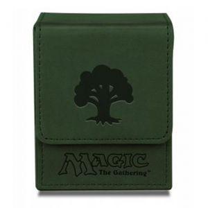 Boites de rangement illustrées Accessoires Pour Cartes Deck Box Ultra Pro - Flip Box aimantée mate - Vert Foret - ACC
