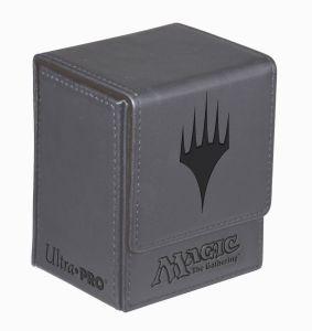 Boites de rangement illustrées  Deck Box Ultra Pro - Flip Box aimantée mate - Gris (Planeswalker) - ACC