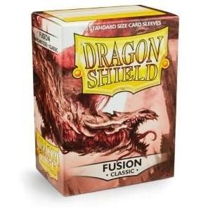 Protèges Cartes Accessoires Pour Cartes 100 pochettes Dragon Shield - Fusion (bordeau) - ACC