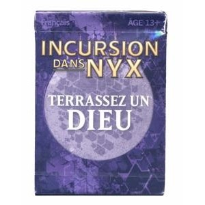 Decks Préconstruits Magic the Gathering Incursion dans Nyx - Deck de défi (challenge) : Terrassez un Dieu