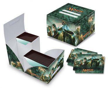 Boites de rangement illustrées Accessoires Pour Cartes Deck Box Ultra Pro - Conspiracy - Dual édition Limitée + 80 Pochettes - Acc