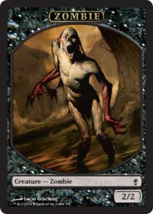 Tokens Magic Magic the Gathering Token/jeton - Conspiracy - Zombie