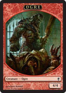 Tokens Magic Token/jeton - Conspiracy - Ogre
