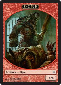 Token Magic Magic the Gathering Token/jeton - Conspiracy - Ogre