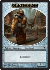 Tokens Magic Magic the Gathering Token/jeton - Conspiracy - Construction