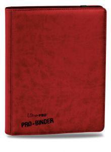 Classeurs et Portfolios Accessoires Pour Cartes Portfolio Ultra Pro - A4 Premium Pro-Binder - Rouge