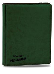 Classeurs et Portfolios Accessoires Pour Cartes Portfolio Ultra Pro - A4 Premium Pro-Binder - Vert