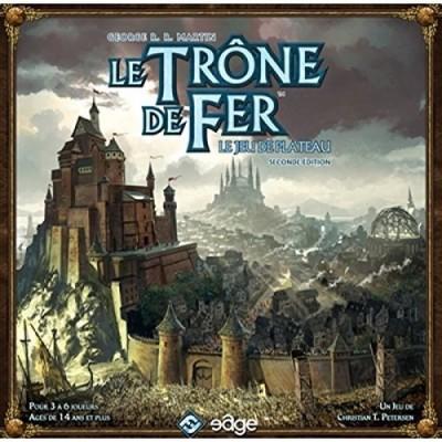 Thème : Médiéval Le Trône de Fer - le jeu de plateau 2nd edition