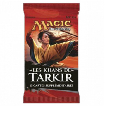 Boosters Magic the Gathering Les Khans de Tarkir - KTK - Booster de 15 Cartes Magic
