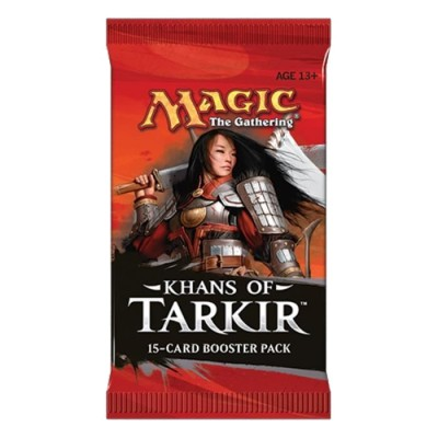 Boosters Magic the Gathering Khans of Tarkir - KTK - Booster de 15 cartes Magic