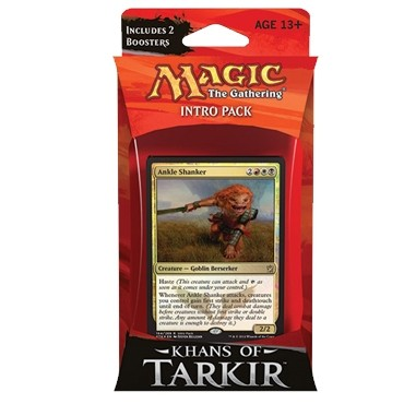 Decks Préconstruits Magic the Gathering Les Khans de Tarkir - Rouge/Blanc/Noir - Intro Pack Deck - Pillards Marduens