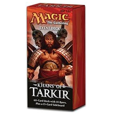 Decks Khans of Tarkir - Event Deck : Conquering Hordes - Blanc/Noir