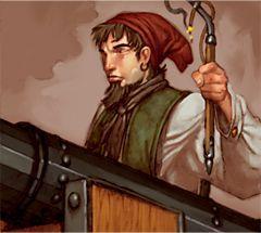 Pirates of the Revolution Pirates 144 - Chainshot Specialist (Treasure) - Pirates of the Revolution