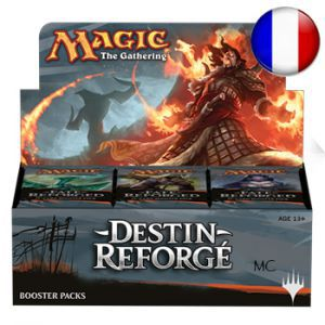 Boite de Boosters Magic the Gathering Destin reforgé - 36 Boosters de draft