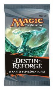Booster Magic the Gathering Destin Reforgé - Booster De 15 Cartes (en Français)