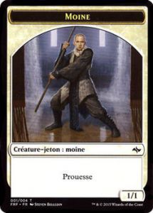 Tokens Magic Magic the Gathering Token/Jeton - Destin reforgé n°1 - Moine