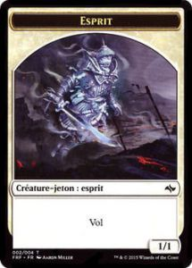 Tokens Magic Magic the Gathering Token/Jeton - Destin Reforgé N°2 - Esprit
