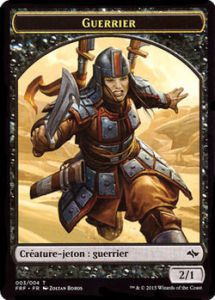Tokens Magic Token/Jeton - Destin reforgé n°3 - Guerrier