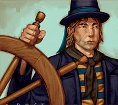 Pirates of the Revolution Pirates 116 - Helmsman (Treasure) - Pirates of the Revolution