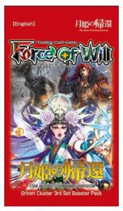 Boosters Force of Will Force of Will The Moon Priestess Returns, Booster Force Of Will (en Anglais)