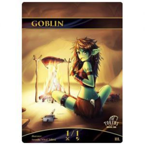 Tokens Magic Magic the Gathering Token/jeton foil - Gobelin