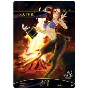 Tokens Magic Accessoires Pour Cartes Token/jeton foil - Satyre