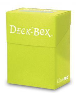 Boites de Rangements Deck Box Ultra Pro Polydeck - Jaune fluo