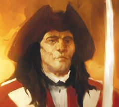 Pirates of the Revolution Pirates 035 - Lt. Nigel Hardwicke (Crew) - Pirates of the Revolution