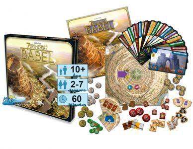7 Wonders Jeux de Plateau 7 Wonders - Babel
