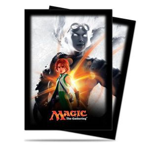 Protèges Cartes illustrées  Magic Origines - 80 pochettes - Chandra
