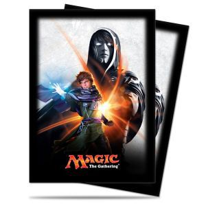 Protèges Cartes illustrées Accessoires Pour Cartes Magic Origines - 80 pochettes - Jace
