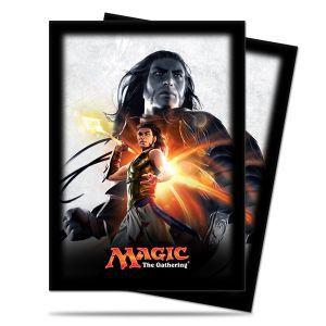 Protèges Cartes illustrées Accessoires Pour Cartes Magic Origines - 80 Pochettes - Gideon