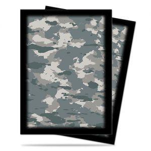 Protèges Cartes illustrées Accessoires Pour Cartes 50 Pochettes - Camouflage Arctic