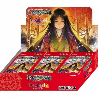 Boites de Boosters Force of Will The Millennia of Ages - Boîte de 36 Boosters - Force of Will - (EN ANGLAIS)