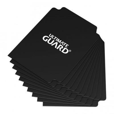 Boites de Rangements Accessoires Pour Cartes Deck Dividers Ultimate Guard - 10 Séparateurs De Cartes - Noir - Acc