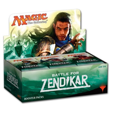 Boites de Boosters Battle for Zendikar