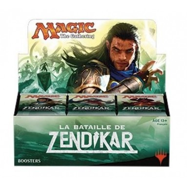 Boites de Boosters Magic the Gathering Bataille de Zendikar - Boite de 36 boosters