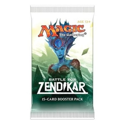 Boosters Magic the Gathering Bataille de Zendikar - BFZ - Booster de 15 Cartes Magic