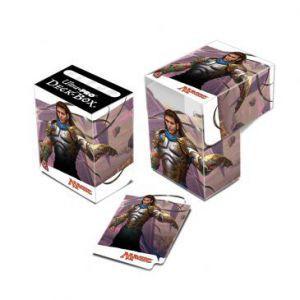 Boites de rangement illustrées Accessoires Pour Cartes Bataille De Zendikar - Deck Box - Gidéon