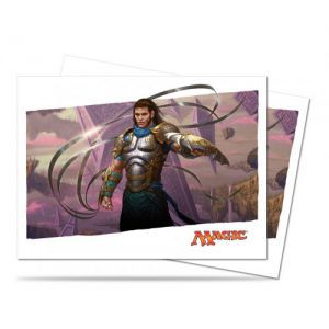 Protèges Cartes illustrées Magic the Gathering Bataille De Zendikar - 80 Pochettes - Gidéon