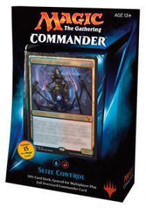 Decks Magic the Gathering Commander 2015 - Prise de contrôle