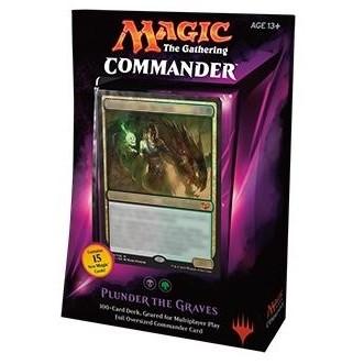 Decks Préconstruits Magic the Gathering Commander 2015 - Pillage de tombe