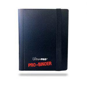 Classeurs et Portfolios Portfolio A6 - 20 pages de 2 Cases - Noir