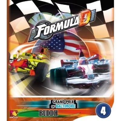 Thème : Véhicules Jeux de Plateau Formula D : Baltimore / Budh