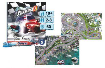Thème : Véhicules Jeux de Plateau Formula D : Sotchi / New Jersey